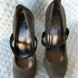 Jessica Simpson Mary Jane-style Stilettos size 8
